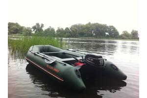 б/у Надувные лодки для рыбалки Kolibri