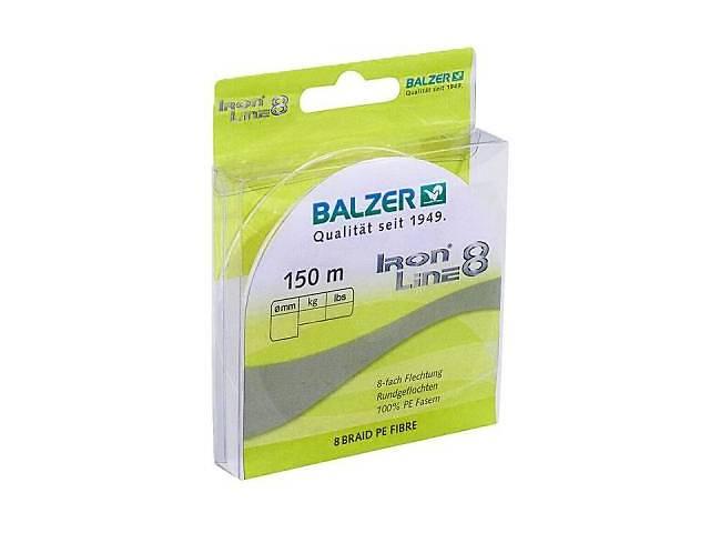 продам Шнур Balzer Iron Line 8x Yellow 150м 0.30 мм 34,8 кг (жовтий) (12661 030) бу в Києві