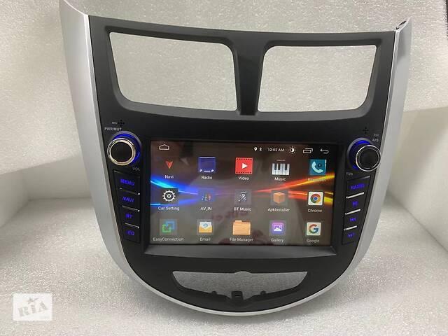 купить бу Hyundai Accent Штатная Магнитола Android ips 2/32Gb Лучшая модель! в Харькове