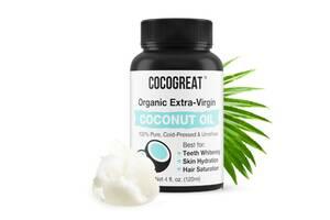 Кокосовое масло для полоскания рта Cocogreat, 120 мл R150565