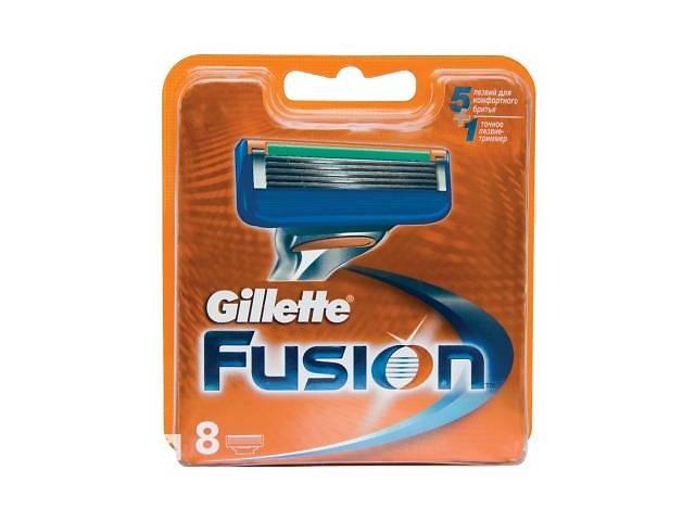 бу Сменные кассеты Gillette Fusion 8 шт (7702018877508) в Киеве