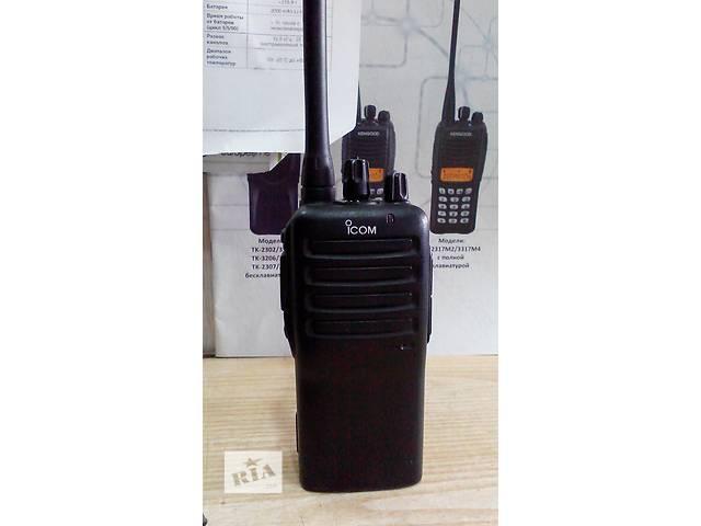 бу Icom IC-F16, радиостанция, рация VHF диапазона в Львове