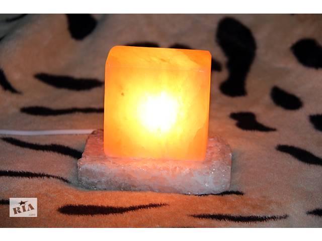 продам Детский очень полезный ночник из гималайской розовой соли соль сіль Соляной светильник бу в Бахмуте (Артемовск)