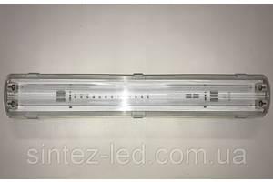 Линейный светильник под светодиодные лампы SL-20 2х10W Т8 IP65 Код.58826