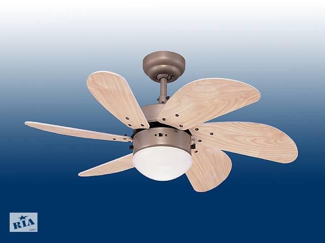 Потолочная вентиляторная люстра TURBO SWIR- объявление о продаже  в Львові