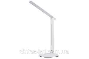 Світлодіодна настільна лампа SEAN SL-50102-9W 4000K біла, сенсор, диммер, Код.58740