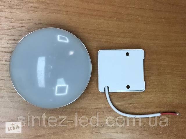 купить бу Світлодіодний світильник накладної швидкого монтажу SL-SUN2 9W 6000K коло білий Код.59368 в Дубні