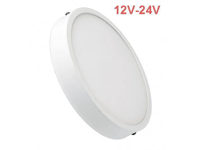 продам Светодиодный cветильник накладной Slim SL-462 12W 12-24V 4000K круглый белый IP20 Код.59466 бу в Киеве