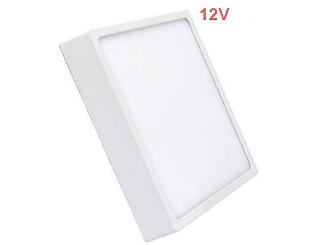 бу Светодиодный cветильник накладной Slim SL-464 6W 12V 4000K квадратный белый IP20 Код.59464 в Киеве