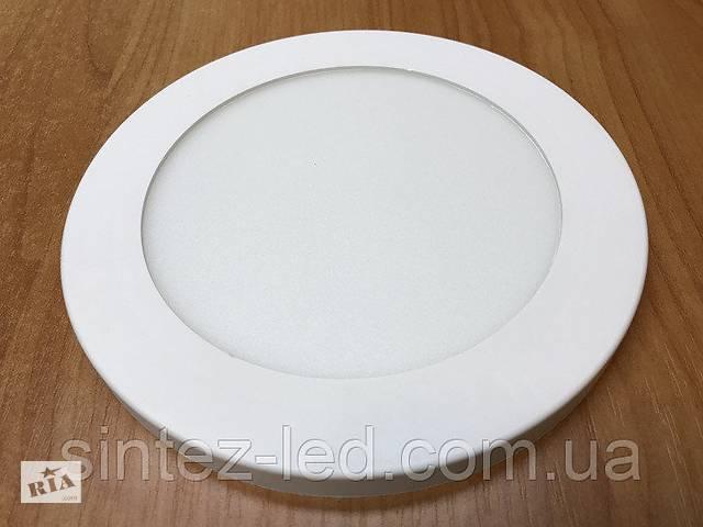 продам Светодиодный светильник накладной потолочный SL12L 12W 5000K круглый белый Код.59254 бу в Киеве