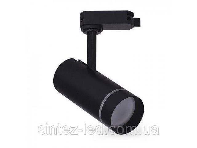 продам Светодиодный трековый светильник AL-106L 18W 6500К черный Код.59454 бу в Киеве