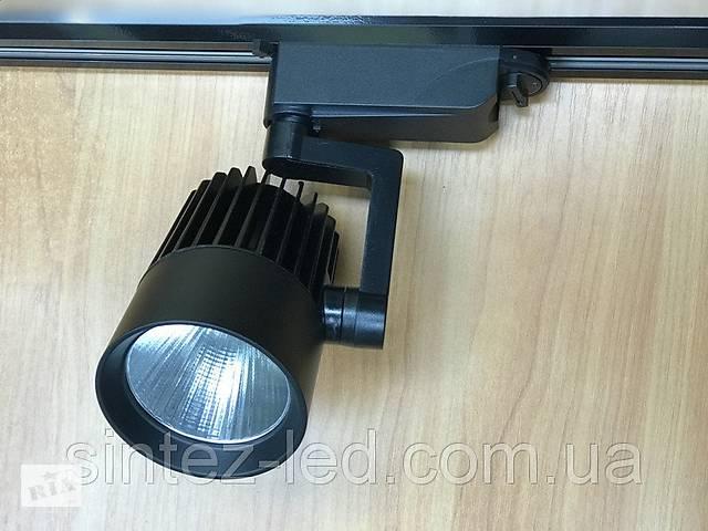 продам Светодиодный трековый светильник SL-4003 30W 4000К черный Код.58439 бу в Киеве