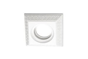 Точечный светильник 110x110 квадрат Греция, белый A009-WT