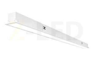 Встраиваемый линейный светодиодный светильник Z-LED 50ВТ белый VLS-50w