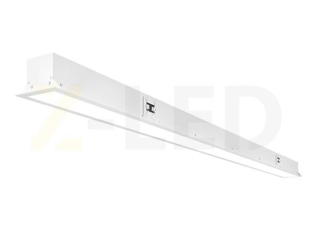 купить бу Встраиваемый линейный светодиодный светильник Z-LED 50ВТ белый VLS-50w в Харькове