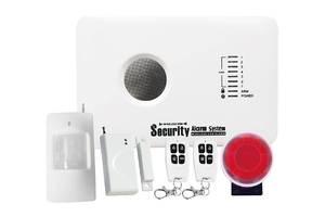 Якісна бездротова сигналізація GSM 10C для будинку + безкоштовна настройка під ключ!
