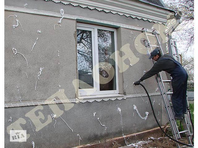 купить бу Утепление стеновых пустот заливным пенопластом экоизол.  в Україні