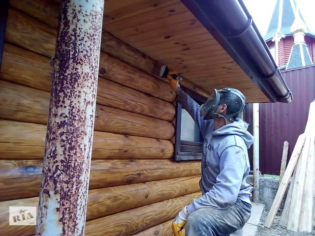 бу Покраска срубов деревянных домов.Выполним Украина,Одесса.  в Украине