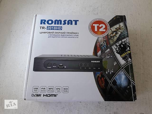 купить бу T2 тюнер ROMSAT TR-2018HD320 в Борисполі