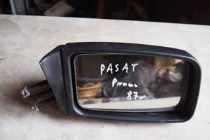 Зеркало боковое правое для Volkswagen Passat 1987рв на фольксваген пассат правая сторона мануальное оригинал не битое