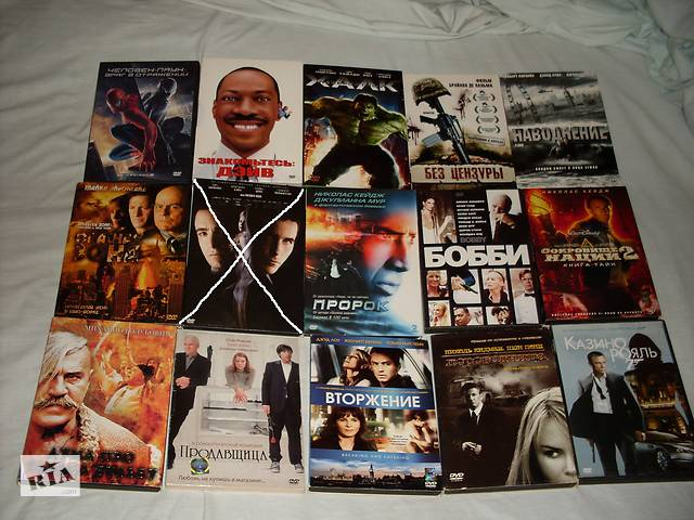 Продам диски DVD-Video- объявление о продаже  в Луцьку