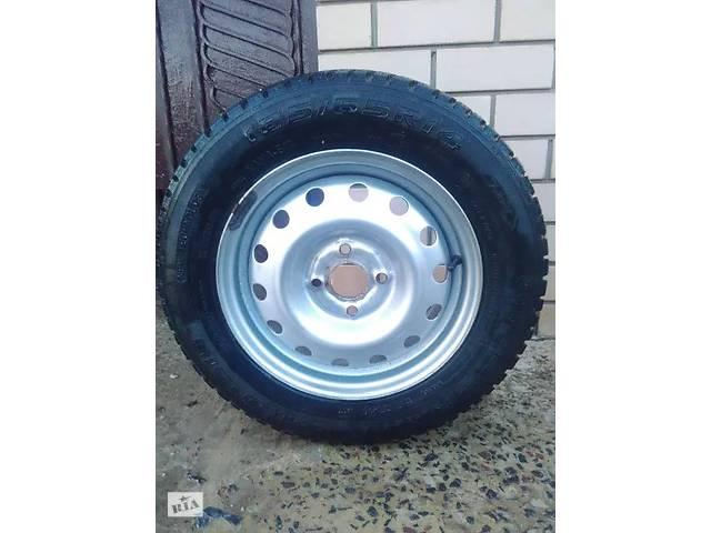 купить бу Зимова гума KAMA EURO 185/65 R14 на стальних дисках 4х100 в Херсоні