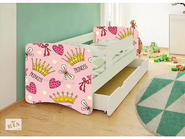 купить бу Кровать детская для девочки Принцеса. Бесплатная доставка в Львове