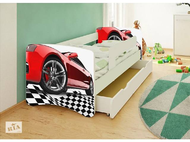 Кровать детская для мальчика Спорт.Бесплатная доставка- объявление о продаже  в Львове