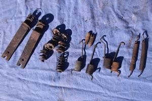распорные для Mercedes 308 1994рв на мерседес 308 диаметр барабана 230мм механизм ручника права ст