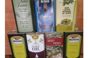Масло оливковое Италия, Греция.Испания.5 литров
