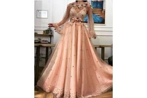Вечірні та випускні плаття, сукні 3D квіти