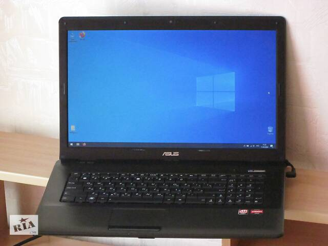 """купить бу Игровой Ноутбук ASUS X72D - 17,3"""" - 4 Ядра - Ram 4Gb - HDD 1000Gb - в Идеале ! в Черкассах"""