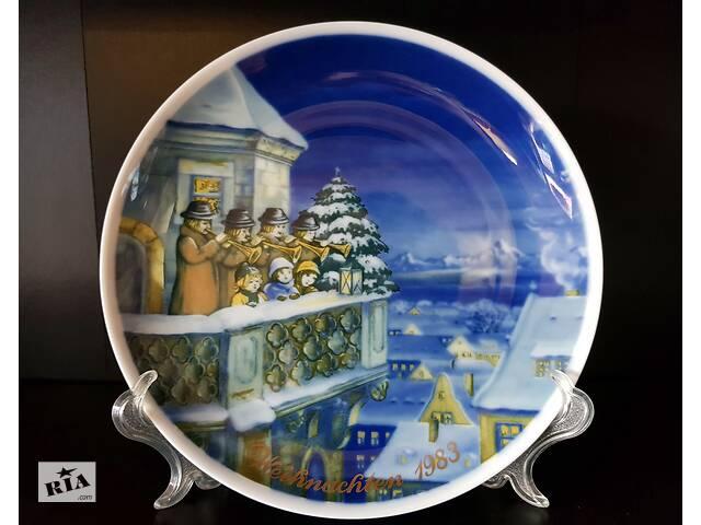 бу Продам Рождественские, фарфоровые, декоративные, немецкие тарелки. в Одессе