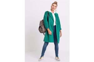 Пальто оверсайз от RAINBOW Германия) два цвета темно-бирюзовый и серый