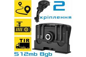 GPS навигатор с видеорегистратором COYOTE 935 DVR 512mb 8gb с картами для грузового и легкового транспорта