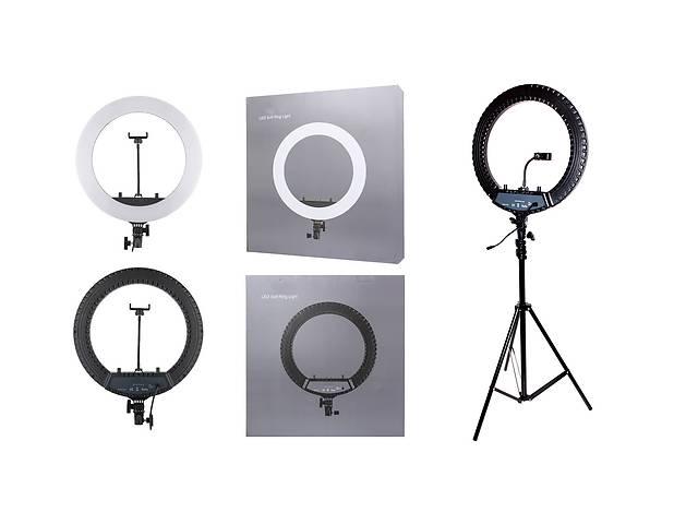 Кольцевая лампа для косметолога парикмахера колориста. Кольцевой свет 55 ватт 45 см
