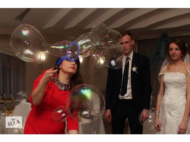 купить бу Шоу мыльных пузырей или песочной шоу на свадьбу, на юбилей, на день рождение в Винницкой области