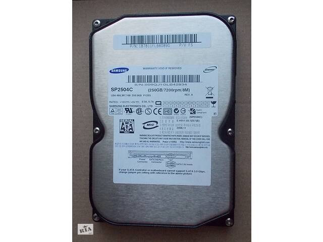 купить бу 250 ГБ Samsung SP2504C в Киеве