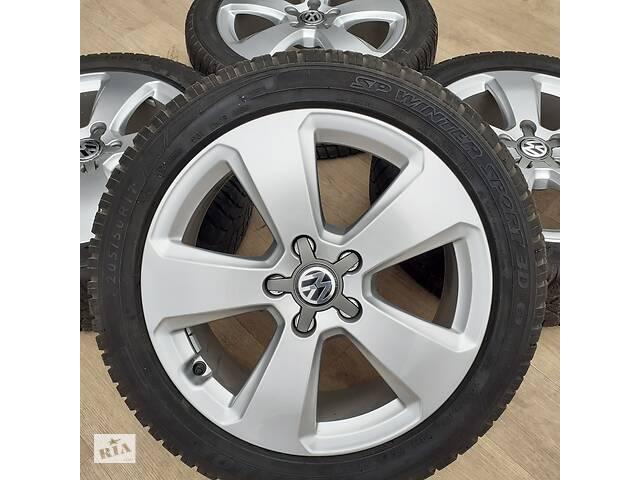 бу Диски Volkswagen R17 5x112 A3 A4 SQ2 VW Passat Beetle T-Roc CC Golf Jetta Skoda Superb Octavia A5 A7 Seat Ateca в Львове