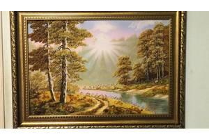 Картини из Натурального Янтаря