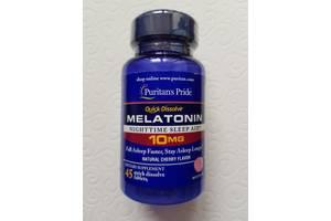 Мелатонин быстрого действия, Melatonin 10 mg, Puritan's Pride