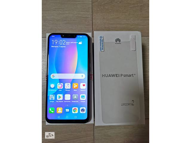 Смартфон Huawei P Smart+ Plus (INE-LX1) Black dual sim