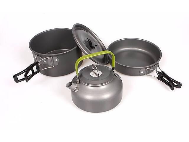 бу Чайник кастрюля сковорода - супер легкий походный набор в Днепре (Днепропетровск)