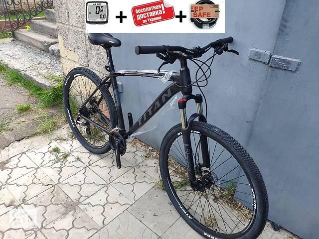 купить бу Велосипед мечта. Горняк 29 TITAN EGOIST HDD (Shimano ALTUS,HYDRO,  24sp, Lockout, 100mm) в Славянске