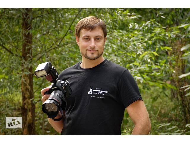 купить бу Профессиональный фотограф и видеограф 2в1 Валерий Дубчук. ЧТО угодно, ГДЕ угодно, КОГДА угодно  в Украине