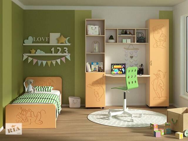 продам Мебель для детской комнаты Джерри (МДФ). Стенка и кровать в детскую бу в Киеве