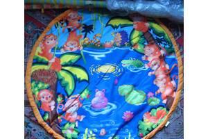 Дитячий ігровий килимок з аркою для іграшок підвісок, карабіни, торг