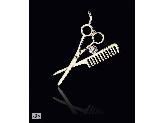 бу Брошь для парикмахера в Запорожье