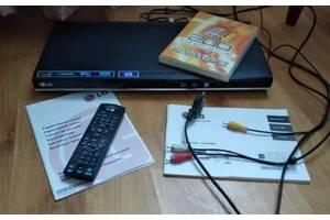ДВД - LG DVX487KH - СД, MP3, USB, HDMI, караоке, пульт дистанційного керування.