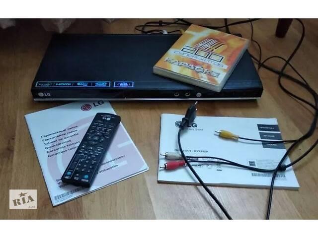 купить бу ДВД - LG DVX487KH - СД, MP3, USB, HDMI, караоке, пульт дистанційного керування. в Киеве